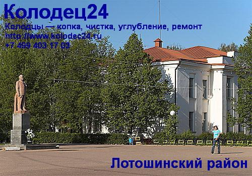 Лотошино Лотошинский район Московская область
