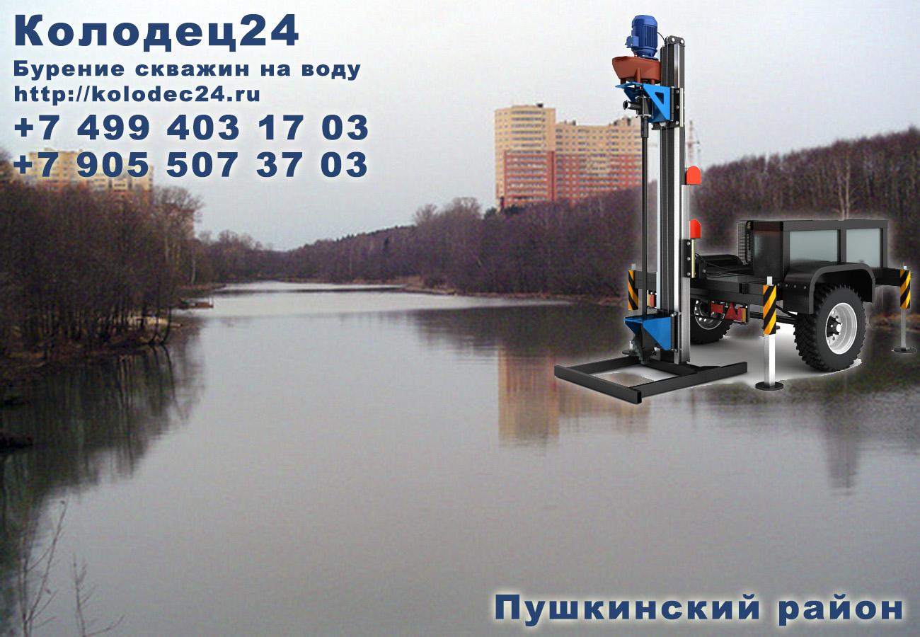 Бурение скважин Пушкино Пушкинский район