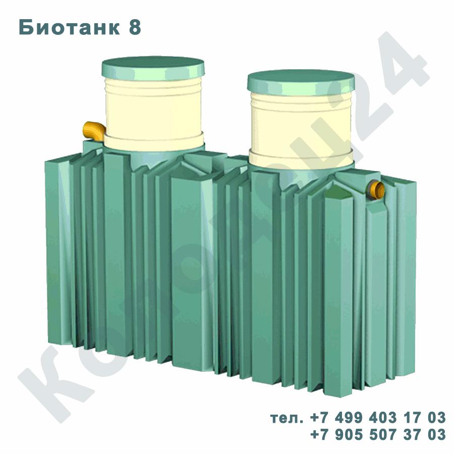 Септик Биотанк 8 горизонтальный Москва Московская область