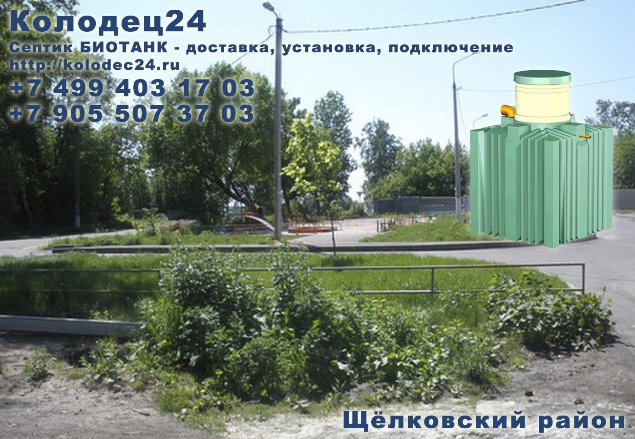 Доставка септик БИОТАНК Щёлково Щёлковский район Московская область