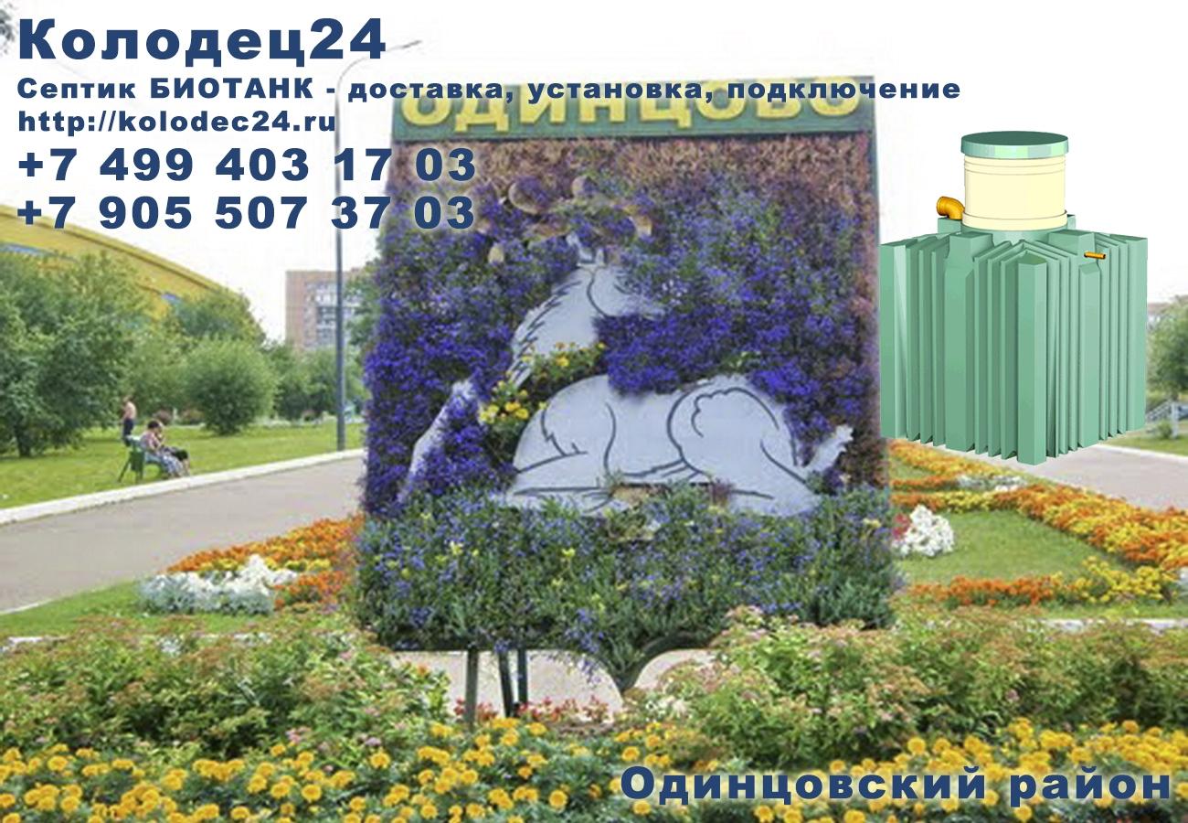 Подключение септик БИОТАНК Одинцово Одинцовский район Московская область